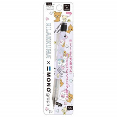 Japan San-X Rilakkuma Tombow Mono Graph Shaker 0.5mm Mechanical Pencil - Purple