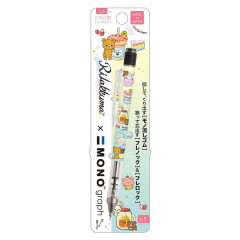 Japan San-X Rilakkuma Tombow Mono Graph Shaker 0.5mm Mechanical Pencil - Rainbow