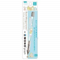 Japan San-X Sumikko Gurashi Tombow Mono Graph Shaker 0.5mm Mechanical Pencil - Blue Stripe