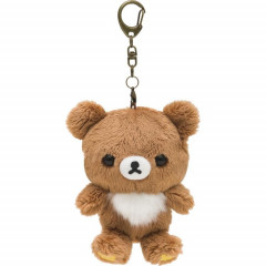 San-X Rilakkuma Fluffy Plush Key Chain