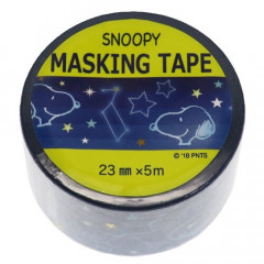 Japan Peanuts Washi Paper Masking Tape - Snoopy Stars