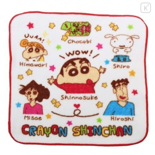 Japan Crayon Shin-chan Handkerchief Wash Towel - 1