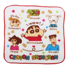 Japan Crayon Shin-chan Handkerchief Wash Towel