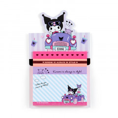 Japan Sanrio Sticky Notes with Stand - Kuromi