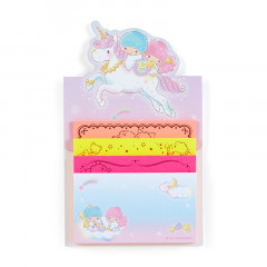 Japan Sanrio Sticky Notes with Stand - Little Twin Stars