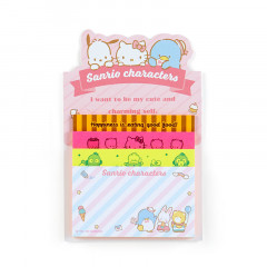 Japan Sanrio Sticky Notes with Stand - Sanrio Characters