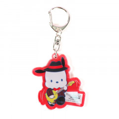 Japan Sanrio Acrylic Charm Key Chain - Pochacco