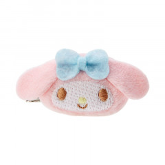 Japan Sanrio Mini Plush Hair Clip - My Melody
