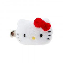 Japan Sanrio Mini Plush Hair Clip - Hello Kitty
