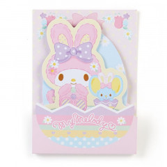 Japan Sanrio Sticky Notes - My Melody Rabbit Easter Special