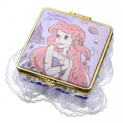 Japan Disney Notepad Memo Mirror Jewelry Box - Little Mermaid Ariel