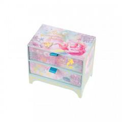 Japan Disney Notepad Memo Box - Little Mermaid Ariel