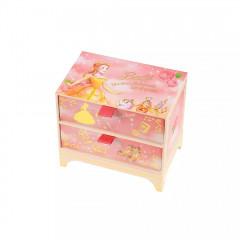 Japan Disney Notepad Memo Box - Belle