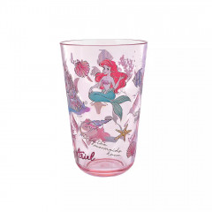 Japan Disney Princess Acrylic Cup Clear Airy - Little Mermaid Ariel