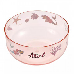 Japan Disney Princess Acrylic Bowl Clear Airy - Little Mermaid Ariel