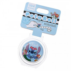 Japan Disney Peripetta Roll Sticker - Stitch