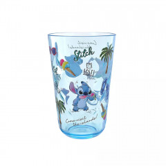 Japan Disney Princess Acrylic Cup Clear Airy - Stitch