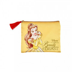 Japan Disney Pouch - Beauty and the Beast Belle