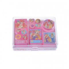 Japan Disney Princesses Stamp Chop - Ariel, Belle, Rapunzel, Cinderella
