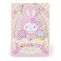 Japan Sanrio Sticky Notes - Hello Kitty Rabbit Easter Special