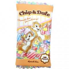 Japan Disney Pouch Makeup Bag Pencil Case - Chip & Dale Candy Time