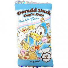 Japan Disney Pouch Makeup Bag Pencil Case - Donald Duck vs Chip & Dale Candy Time