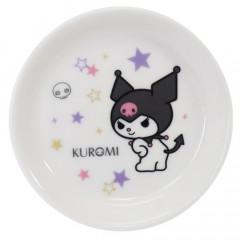 Japan Sanrio Kuromi Mini Plate - White