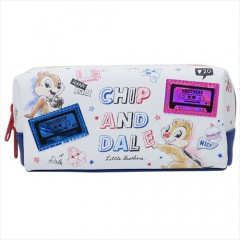 Japan Disney Pouch (M) - Chip & Dale / Cassette