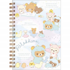 Japan San-X Rilakkuma B6 Notebook - Dinosaurs