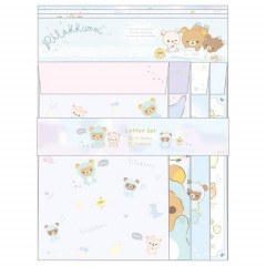 Japan Rilakkuma Letter Envelope Set - Dinosaurs