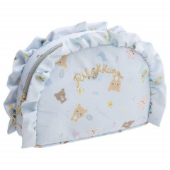 Japan Rilakkuma Pouch (S) - Light Blue