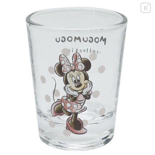 Japan Disney Mini Glass Cup - Minnie Mouse - 1
