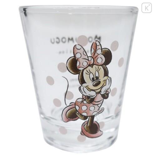 Japan Disney Mini Glass Cup - Minnie Mouse - 2
