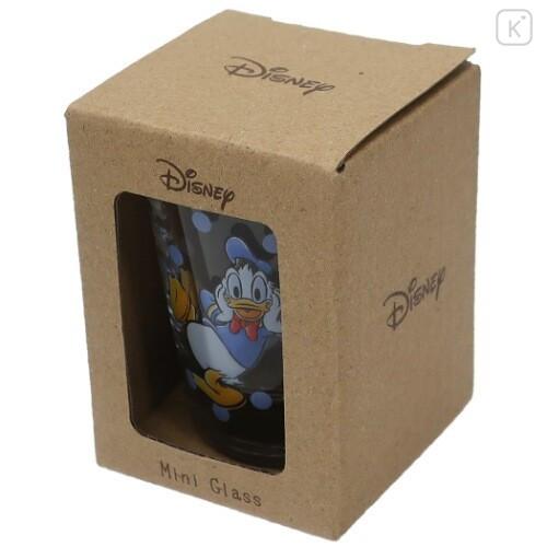 Japan Disney Mini Glass Cup - Donald Duck - 5