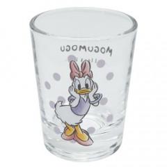 Japan Disney Mini Glass Cup - Daisy Duck