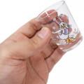 Japan Disney Mini Glass Cup - Daisy Duck - 3