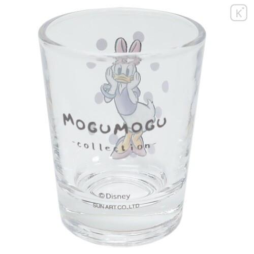 Japan Disney Mini Glass Cup - Daisy Duck - 4