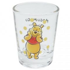 Japan Disney Mini Glass Cup - Winnie The Pooh