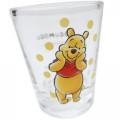 Japan Disney Mini Glass Cup - Winnie The Pooh - 2