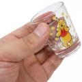 Japan Disney Mini Glass Cup - Winnie The Pooh - 3