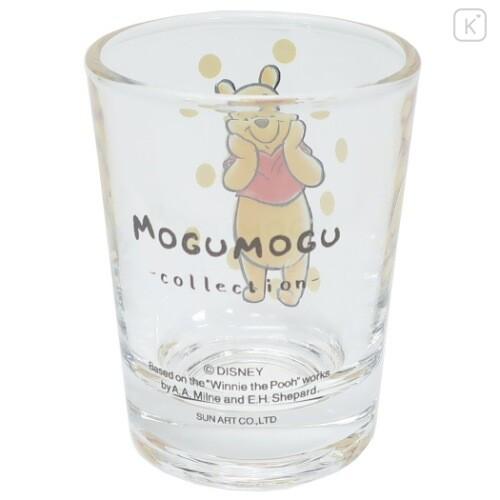 Japan Disney Mini Glass Cup - Winnie The Pooh - 4