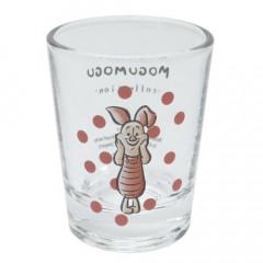 Japan Disney Mini Glass Cup - Piglet
