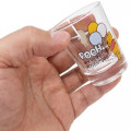 Japan Disney Mini Glass Cup - Winnie The Pooh & Balloon - 3