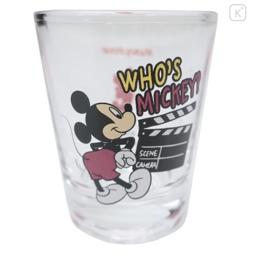 Japan Disney Mini Glass Cup - Mickey Mouse - 2