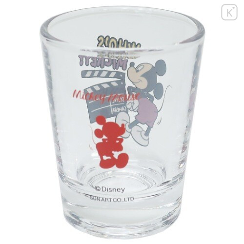 Japan Disney Mini Glass Cup - Mickey Mouse - 4