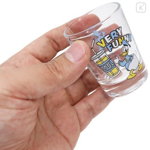 Japan Disney Mini Glass Cup - Donald Duck - 3