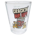 Japan Disney Mini Glass Cup - Chip & Dale - 2