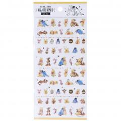 Japan Disney Seal Sticker - Winnie The Pooh