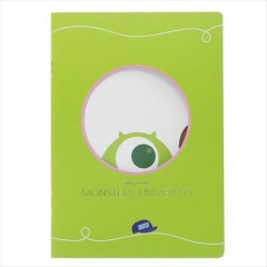 Japan Disney A5 Glue Blank Notebook - Monsters University