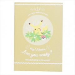 Japan Pokemon A5 Glue Blank Notebook - Pikachu
